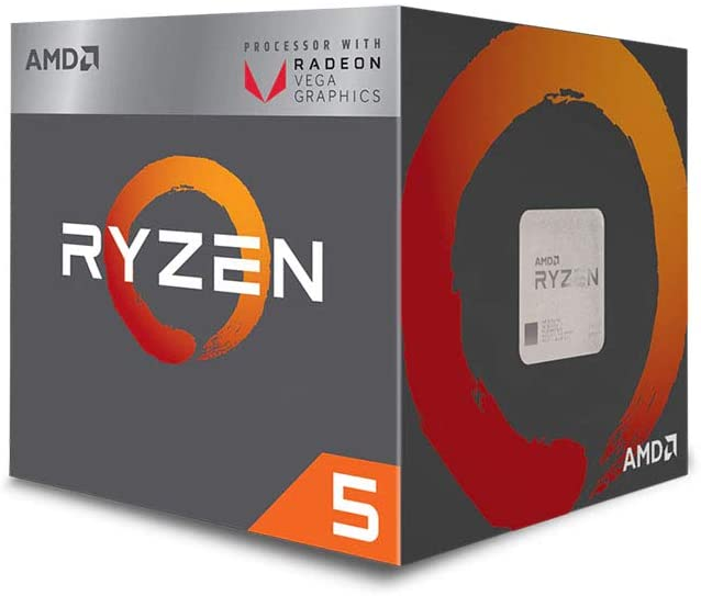 CPU AMD RYZEN5 3400G AM4 4.2GHz BOX