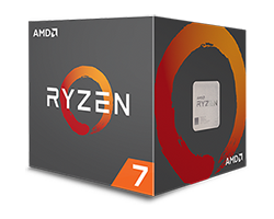 CPU AMD RYZEN7 1800X 4.0 Ghz 20MB SK AM4