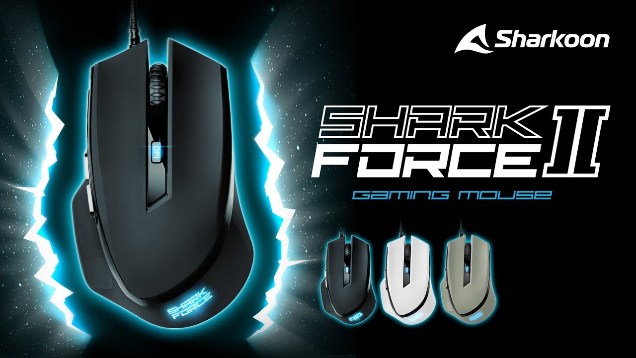 MOUSE GAMIN SKARKOON FORCE II 4200 DPI USB