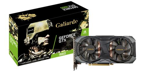 MANLI GEFORCE GTX1660Ti GALLARDO DDR5 6GB