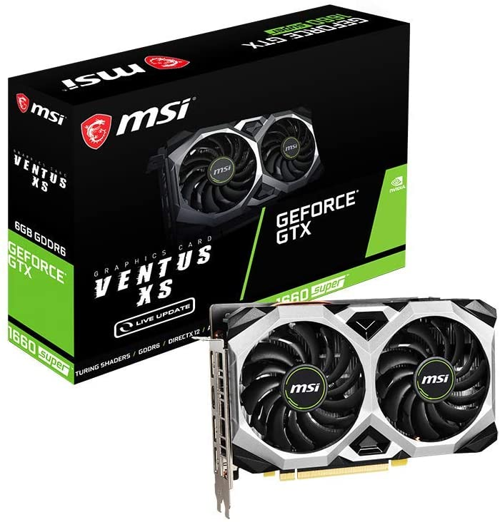 MSI GEFORCE GTX1660 SUPER VENTUS OC 6GB